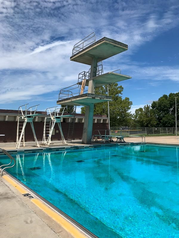 Woods Park Pool Tower