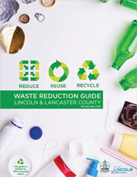 Reduce, Reuse and Recycle Guide