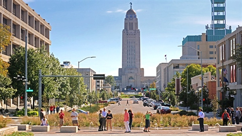 Capitol from Centennial Mall